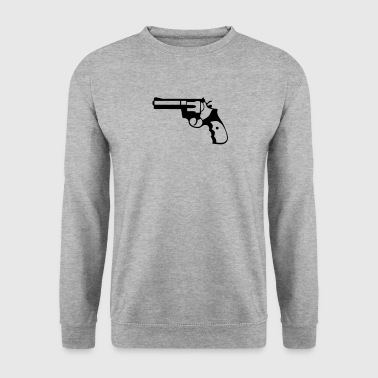 revolver pistolet flingue 21014 Tee shirts - Sweat-shirt Homme