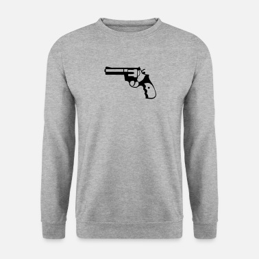 Revolver revolver pistolet flingue 21014 Tee shirts - Sweat-shirt Homme