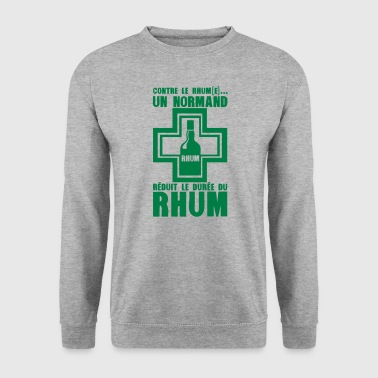 normand reduit duree rhum pharmacie - Sweat-shirt Homme