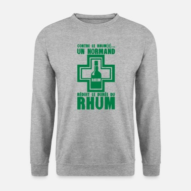 Pharmacie normand reduit duree rhum pharmacie - Sweat-shirt Homme