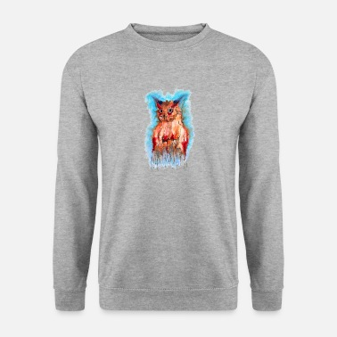 Owls Shirt I Owl Owl owl night kids boy - Men's Sweatshirt