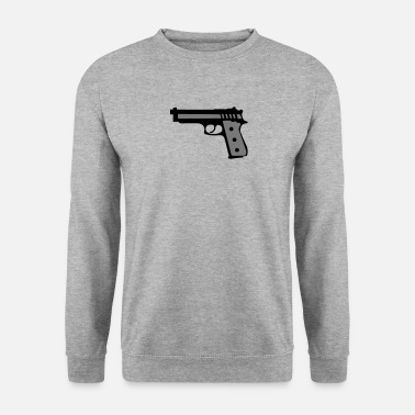 Revolver revolver pistolet flingue 2012 - Sweat-shirt Homme