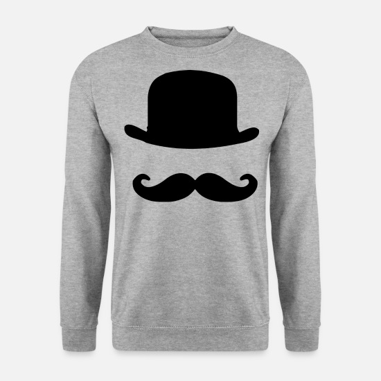 Beard Hoodies & Sweatshirts - hipster - Men's Sweatshirt salt & pepper