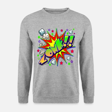 Comic Book Comic Book ZONK - Men's Sweatshirt