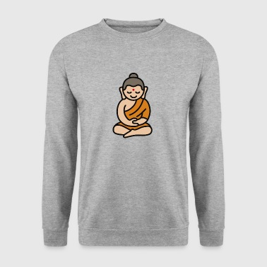 Buddha Cartoon - Men's Sweatshirt