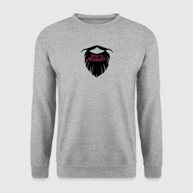 citation barbe sexy and bearded barbu hu - Sweat-shirt Homme