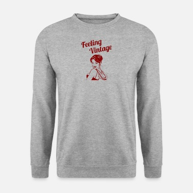 Up Pin-Up Girl / Rockabilly / 50: Feeling Vintage - Sweat-shirt Homme