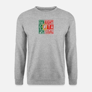Straight Outta Straight Outta PORTUGAL portugese - Sweat-shirt Homme