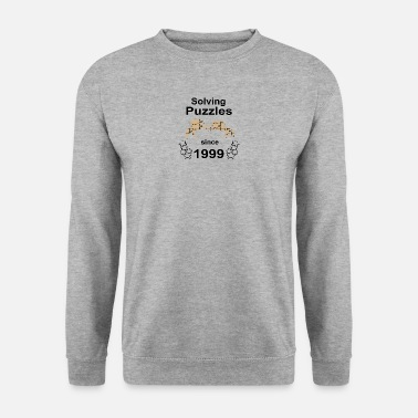 Since Solving puzzles since 1999 - Männer Pullover