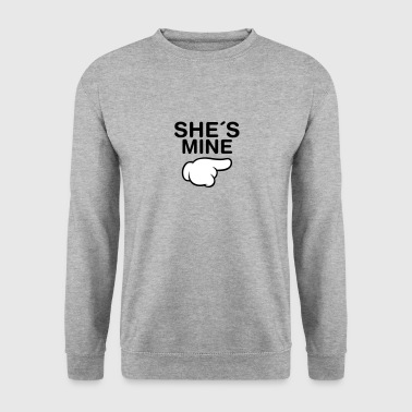 She´s Mine (Comic Hand) - Sweat-shirt Homme