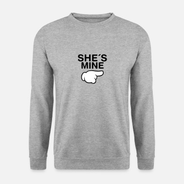 Valentinstag She´s Mine (Comic Hand) - Männer Pullover