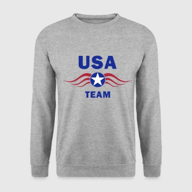 usa fly team - Sweat-shirt Homme