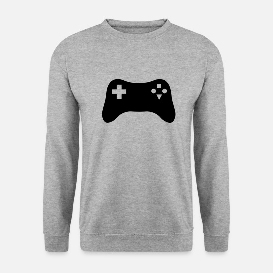 Tech Hoodies & Sweatshirts - Gaming Console - Men's Sweatshirt salt & pepper