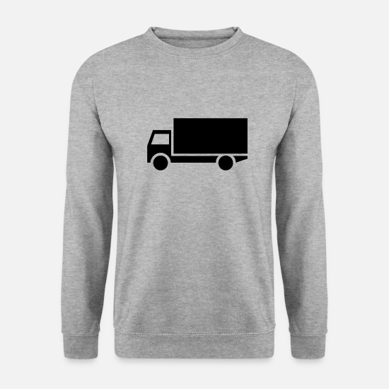 Craftsman Hoodies & Sweatshirts - truck,vehicle,mode of transport - Men's Sweatshirt salt & pepper