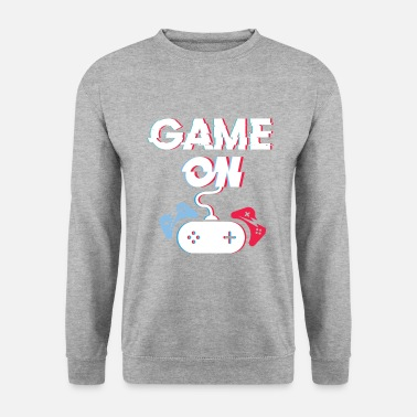 Controller ShirtActs Game on - Unisex Sweatshirt