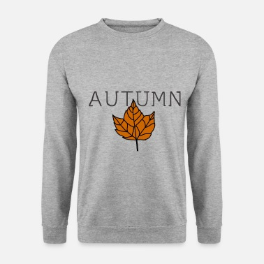 Girasole Autumn leaves thanksgiving fruits idea regalo - Felpa uomo