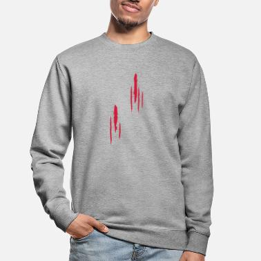 Scratch Scratches - cicatrices - Sweat-shirt Unisexe