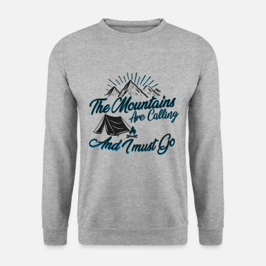 The Mountains are Calling - Unisex Pullover