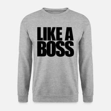 Coole Like a Boss - Männer Pullover
