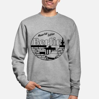 Mauer Berlin Mauerfall Edition ...+ - Unisex Pullover
