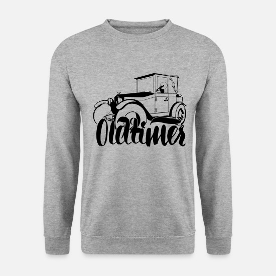 Birthday Hoodies & Sweatshirts - Oldtimer - Men's Sweatshirt salt & pepper