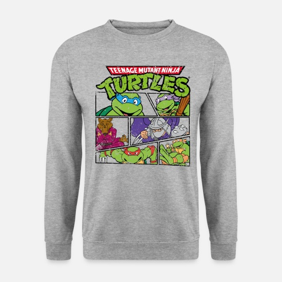 Martial Arts Hoodies & Sweatshirts - TMNT Turtles Heores - Unisex Sweatshirt salt & pepper