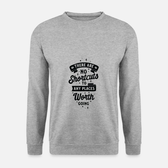 Love Hoodies & Sweatshirts - wisdom - Unisex Sweatshirt salt & pepper