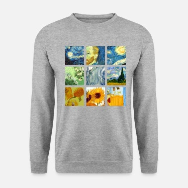 Graphic Art Van Art Gogh Graphic - Tröja unisex