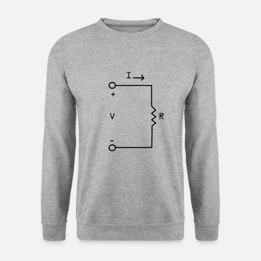 Electronics Electronic technician Electronic circuit - Men's Sweatshirt