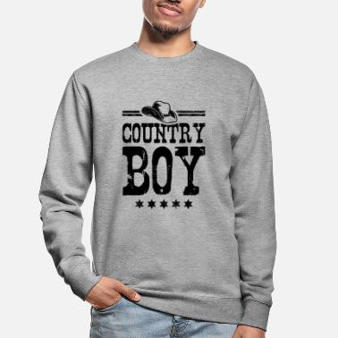 Country Country Boy - Sweatshirt unisex