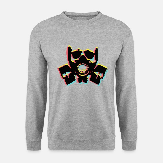 Galaxy Sweat-shirts - Mascotte - Sweat-shirt Homme gris chiné