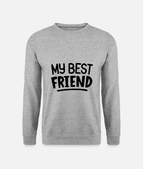 Friends Hoodies & Sweatshirts - Best friends - Unisex Sweatshirt salt & pepper