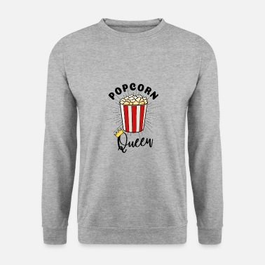 Boter Popcorn Queen Popcorn Bag Gift T-shirt - Mannen sweater