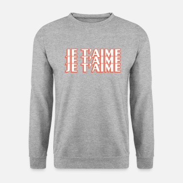 Je Taime Je Taime Graphic - Sweat-shirt Homme