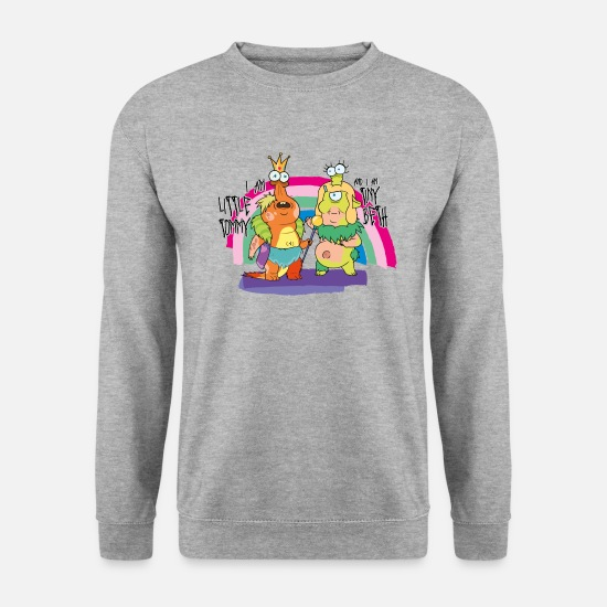 And Hoodies & Sweatshirts - Rick and Morty Little Tommy and Tiny Beth - Unisex Sweatshirt salt & pepper