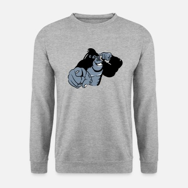 Gorilla show Gorilla bird - Men's Sweatshirt