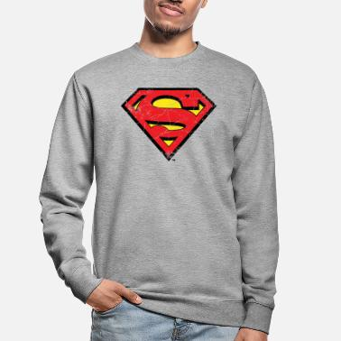 Supergirl DC Comics Superman Logo Used Look - Unisex Pullover