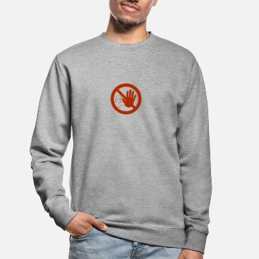 Caution sign - Unisex Sweatshirt