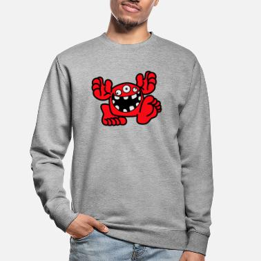 Proud To Be A Monster Cartoon by Cheerful Madness! - Unisex Sweatshirt