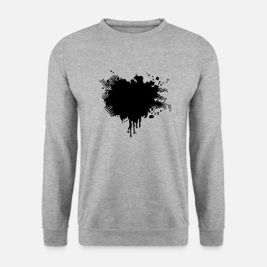 Splatter splatter - Sweat-shirt Unisexe