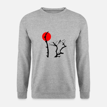 Stencil bird stencil - Sweat-shirt Homme