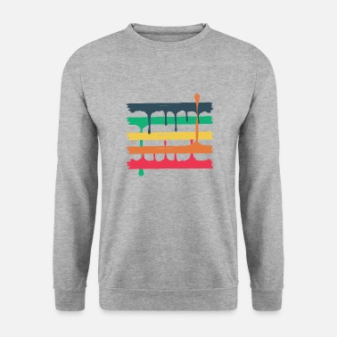5 colored beams - Unisex Pullover