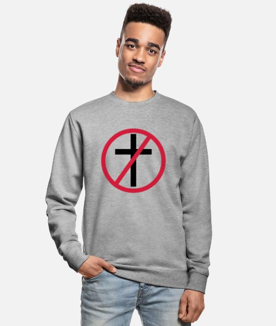 Skull And Crossbones Hoodies & Sweatshirts - No Religion - Unisex Sweatshirt salt & pepper