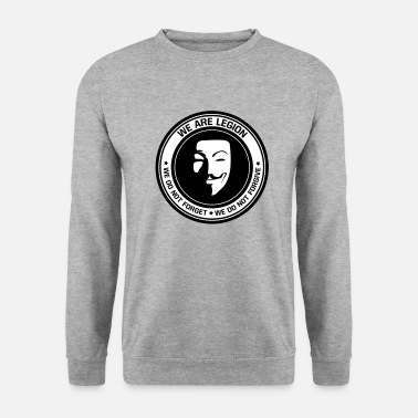 Anonymous - we are legion - Men's Sweatshirt