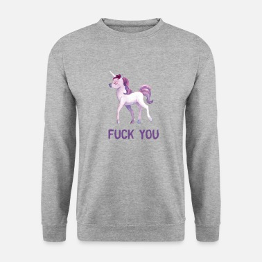 Populaire Baise younicorn - Sweat-shirt Homme