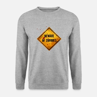Pandémie Attention aux zombies - Sweat-shirt Homme