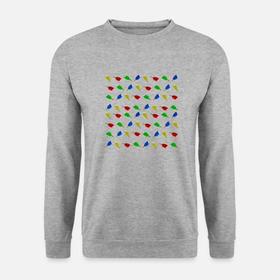 Symbol  Hoodies & Sweatshirts - Ice Four colors in a square - Unisex Sweatshirt salt & pepper