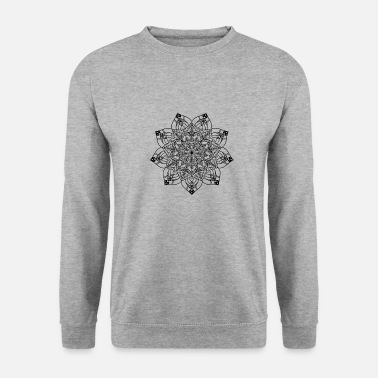New Age New age mandala D'or - Sweat-shirt Unisexe