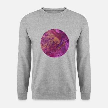 Painter Pink Passion / Acrylic Pouring - Unisex Sweatshirt