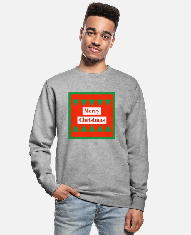 Christmas Hoodies & Sweatshirts - Merry Christmas - Unisex Sweatshirt salt & pepper